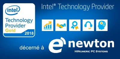 e'NEWTON Gold Intel Technology Provider