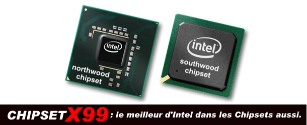 ordinateur bureau à chipsets Intel X99